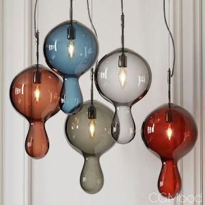 Globule Pendants By Moshe Bursuker
