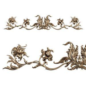 Cartouche. Stucco Decorative Element