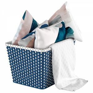 Basket With Pillows