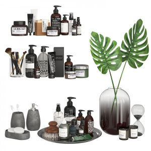 Bathroom Decor Accessories And Cosmetics