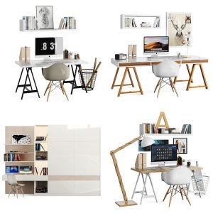 5 model workspace_ikea vol.1