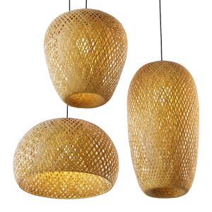 Hanging Bamboo Lamp