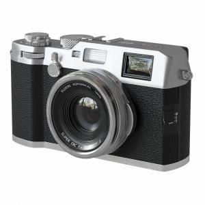 Compact Premium Fujifilm X100f Silver Camera