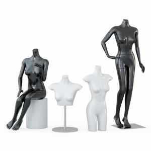 Four Female Mannequins 64