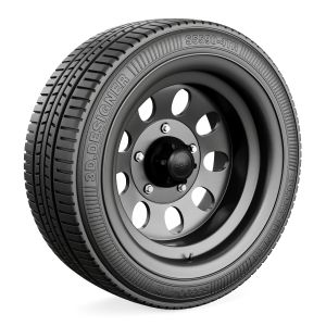 Tire And Car Rim