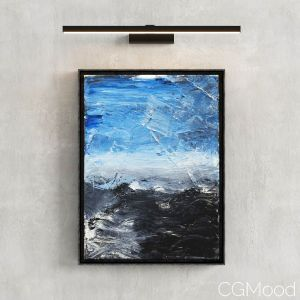Abstract Painting By Simon George #10 With Light