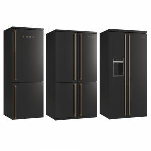 Smeg Coloniale Refrigerators Black