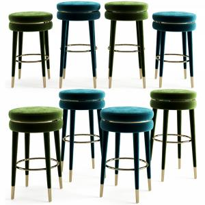 Eichholtz Bar And Counter Stool Parisian