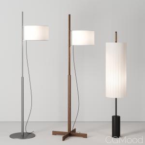 Floor Lamps By Santa&cole