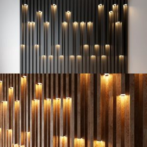 2 wall decorative light