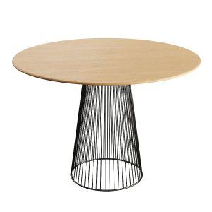 Wooden Circular Table