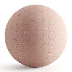 Pink Hexagon Matte Tiles