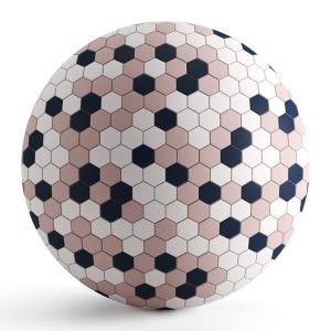 Hexagon Mosaic Tiles