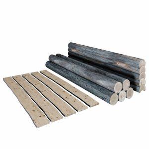 Logs, Boards.