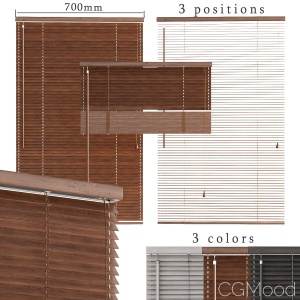 Wooden Blinds 3 Options 3 Colors
