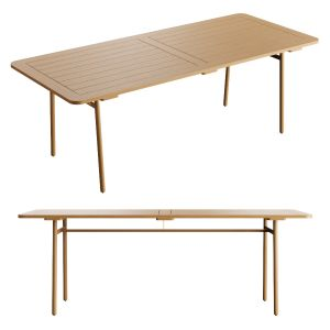 Kettal Riva Wooden Table