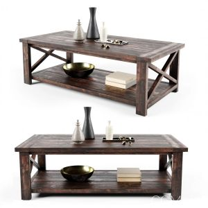 Ana White Rustic Coffee Table