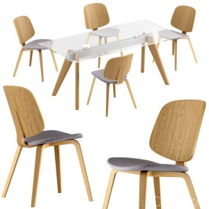 Boconcept - Aarhus Dining Chair + Monza Table