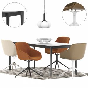 Boconcept - Vienna Chair +torino Table