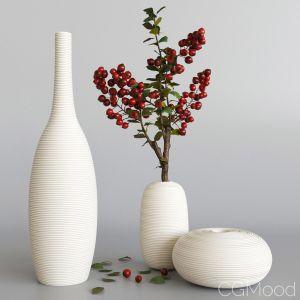 Decorative Set With Berries