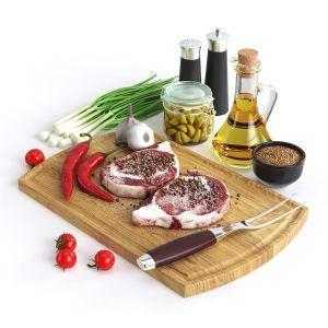 Still Life Black Angus Steak