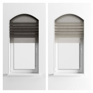 Parametric Roman Curtains and Arched Window