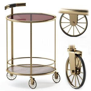 Baughman Bar Cart From Covet Paris
