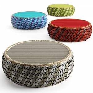 Dala Coffee Table By Dedon