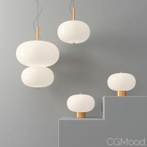 Led White Glass Pendant