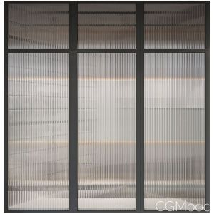 Corrugated Glass