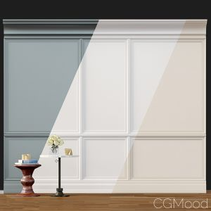 Wall Molding 02. Boiserie Classic Panels
