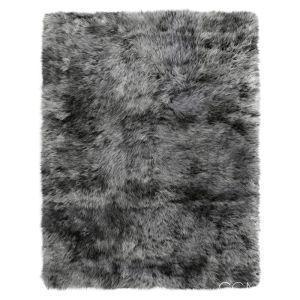 Shaggy Sheepskin Gray Rug