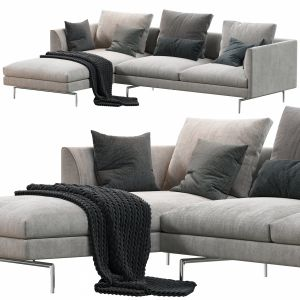 1333 Flamingo Zanotta Sofa
