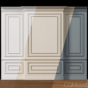 Wall Molding 4  Boiserie Classic Panels