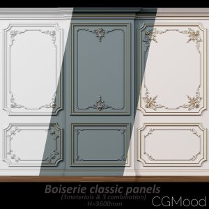Wall Molding 5  Boiserie Classic Panels