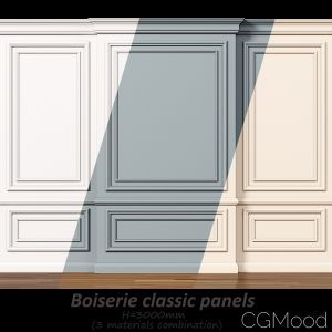 Wall Molding 7. Boiserie Classic Panels