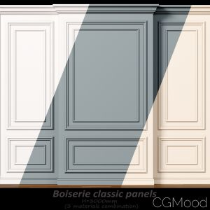 Wall Molding 8. Boiserie Classic Panels
