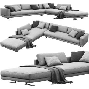 Poliform Mondrian Corner Sofa