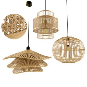 Weaver Pendant Lamp Natural Bamboo