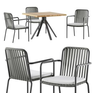 Skyline Design Trinity Dining Set