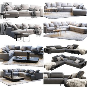 BoConcept sofa set (13 items)