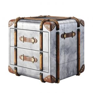 Rh Richards Trunk 2-drawer Cube