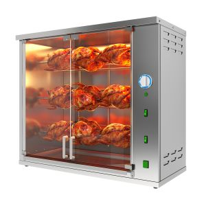 Vertical Chicken Grill Machine