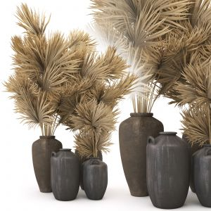Set Of Clay Vases