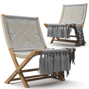 Twilight Macrame Chair - Neutral Star