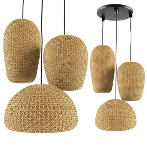 Rattan And Bamboo Chandeliers