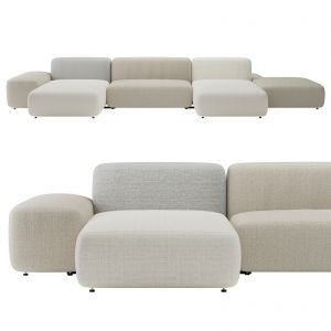 Plus Island Big Sofa By Lapalma