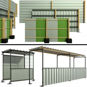 Protective Security Fencing Of Construction Sites,