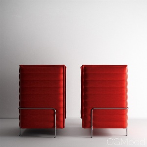 Alcove Highback by Vitra Collection