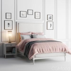Maelin Upholstered Bed